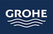 לחצן 2 צינוריות למיכל הדחה סמוי גרואה-GROHE