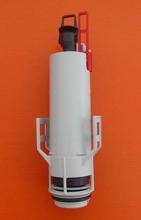 מיכל הדחה סמוי נמוך עם מנגנון plasson-פלסאון תיקון החלפת חלקים